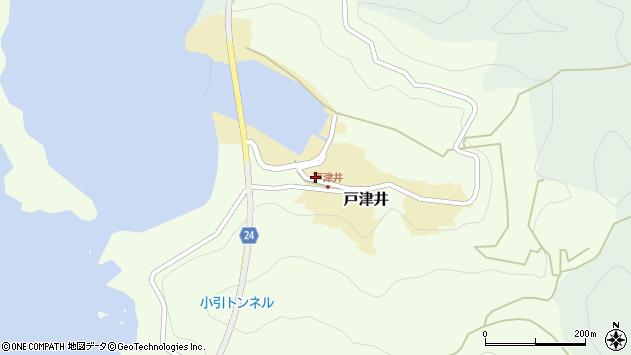 〒649-1134 和歌山県日高郡由良町戸津井の地図