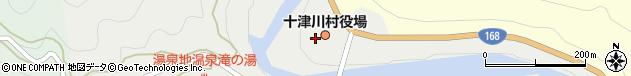 奈良県吉野郡十津川村周辺の地図
