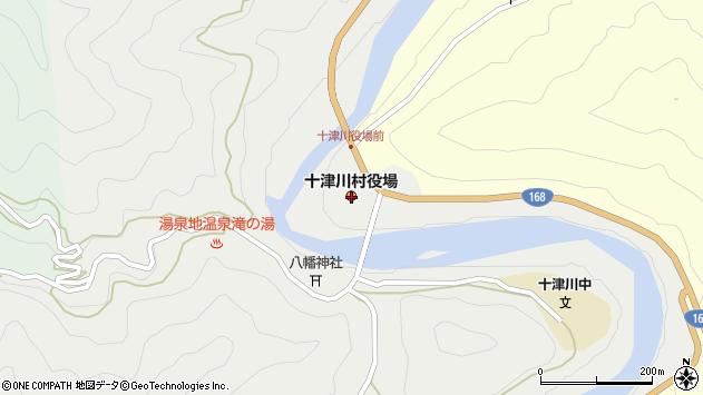 〒637-1500 奈良県吉野郡十津川村(以下に掲載がない場合)の地図