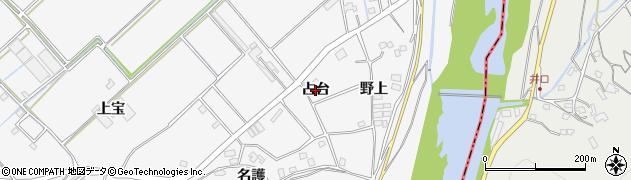 徳島県徳島市多家良町(占台)周辺の地図
