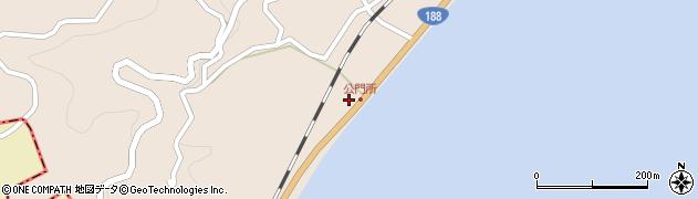 山口県岩国市由宇町神東公門所2393周辺の地図