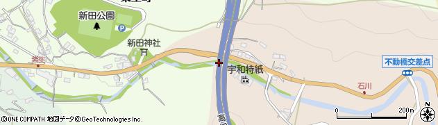 川滝橋周辺の地図