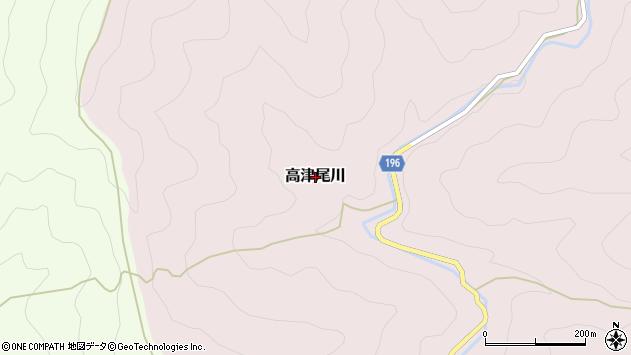 〒644-1123 和歌山県日高郡日高川町高津尾川の地図