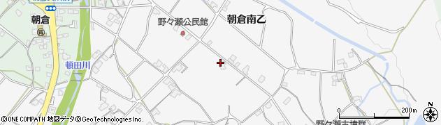 愛媛県今治市朝倉南(乙)周辺の地図