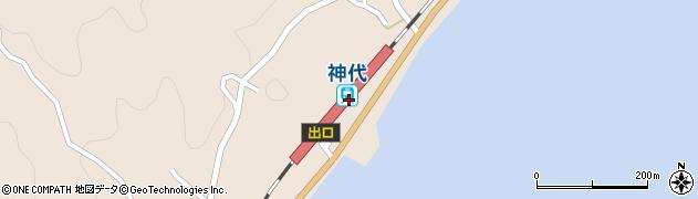 山口県岩国市周辺の地図