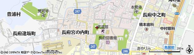 乃木神社周辺の地図