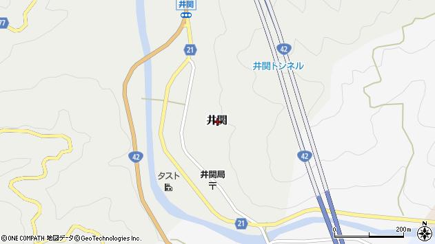 〒643-0055 和歌山県有田郡広川町井関の地図