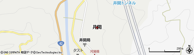 和歌山県広川町(有田郡)井関周辺の地図