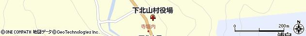 奈良県吉野郡下北山村周辺の地図