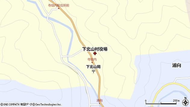 〒639-3800 奈良県吉野郡下北山村(以下に掲載がない場合)の地図