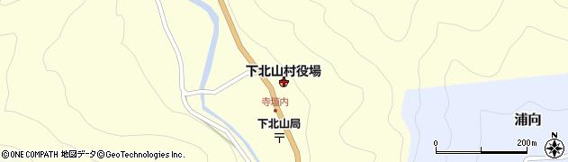 下北山村役場 産業建設課周辺の地図