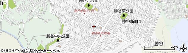 山口県下関市勝谷新町周辺の地図