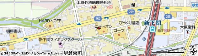 山口県下関市秋根西町周辺の地図