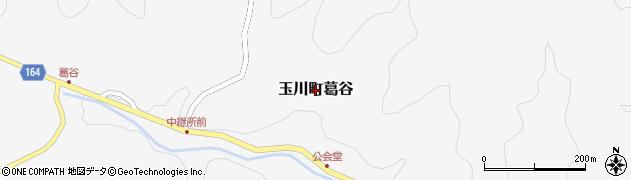 愛媛県今治市玉川町葛谷周辺の地図