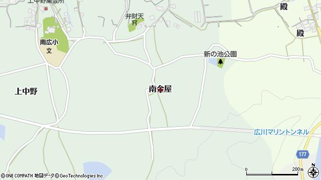 〒643-0063 和歌山県有田郡広川町南金屋の地図