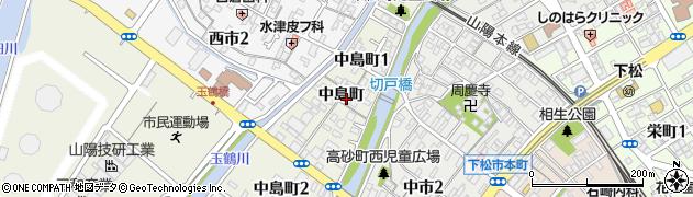 山口県下松市西豊井(相生町)周辺の地図
