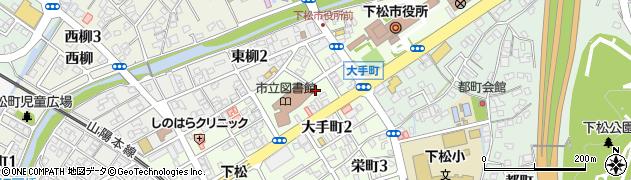 山口県下松市大手町周辺の地図