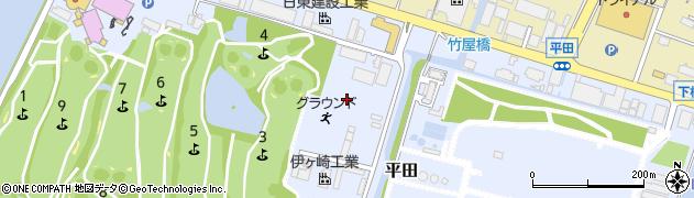 山口県下松市平田周辺の地図