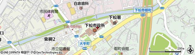 山口県下松市周辺の地図