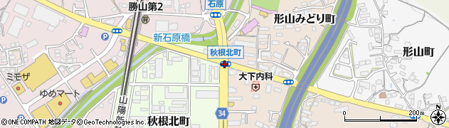 形山みどり町周辺の地図