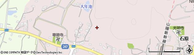 山口県下関市有冨周辺の地図