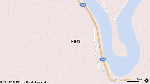 〒639-3807 奈良県吉野郡下北山村下桑原の地図