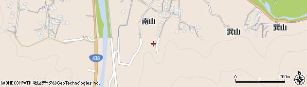 徳島県徳島市上八万町(南山)周辺の地図