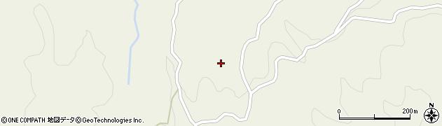 山口県岩国市由宇町中倉周辺の地図