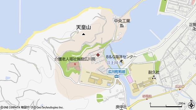 〒643-0075 和歌山県有田郡広川町和田の地図
