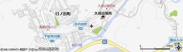山口県下松市河内(久保)周辺の地図