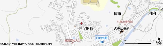 山口県下松市河内(日ノ出町)周辺の地図