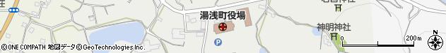 和歌山県有田郡湯浅町周辺の地図