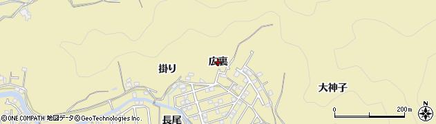 徳島県徳島市大原町(広裏)周辺の地図
