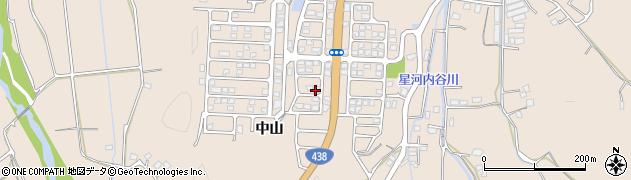 文化ニュータウン周辺の地図