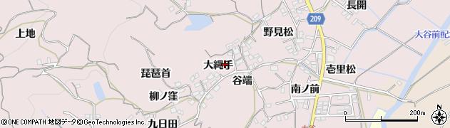 徳島県徳島市大谷町(大縄手)周辺の地図