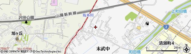 山口県下松市末武中(和田)周辺の地図