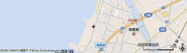 愛媛県今治市菊間町浜周辺の地図