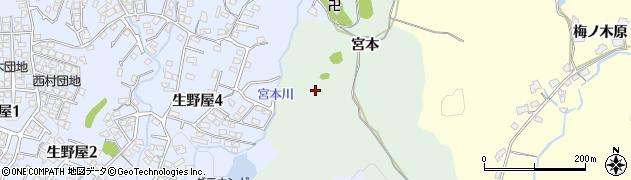 山口県下松市生野屋(宮本)周辺の地図