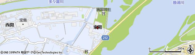 徳島県徳島市雑賀町(東開)周辺の地図