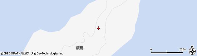 広島県呉市倉橋町(横島)周辺の地図