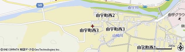山口県岩国市由宇町西周辺の地図