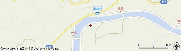 山口県岩国市由宇町中村4112周辺の地図
