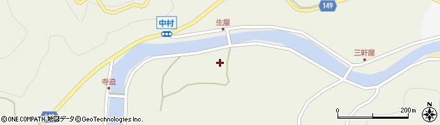 山口県岩国市由宇町中村4128周辺の地図