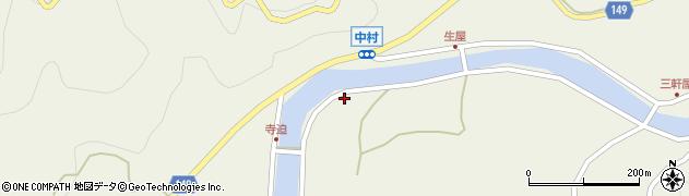 山口県岩国市由宇町中村4115周辺の地図