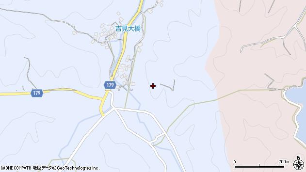 〒643-0802 和歌山県有田郡有田川町吉見の地図