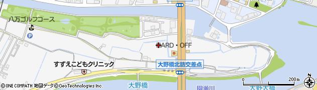 徳島県徳島市八万町(沖須賀)周辺の地図