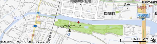 冷田川周辺の地図