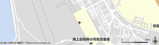 山口県下関市松屋本町周辺の地図