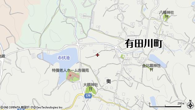 〒643-0022 和歌山県有田郡有田川町奥の地図