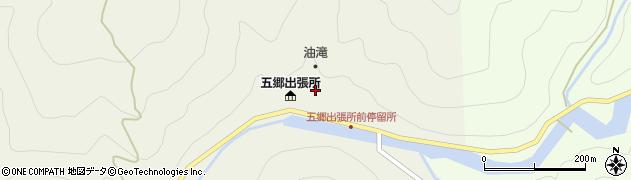和歌山県有田郡有田川町川合周辺の地図